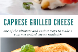 #Caprese #Grilled #Cheese