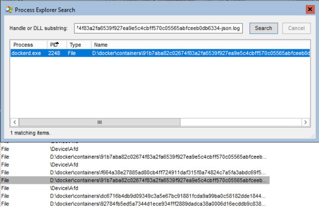 Process Explorer - Find Handle or DLL