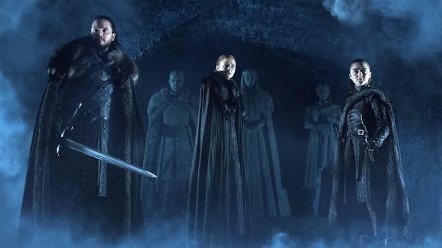 Durante um evento que reuniu as empresas de televisão da França, foi revelada a duração dos episódios da temporada final de Game of Thrones. Os dois primeiros capítulos terão 60 minutos cada e a partir do terceiro episódio seguirá a marca de 80 minutos.
