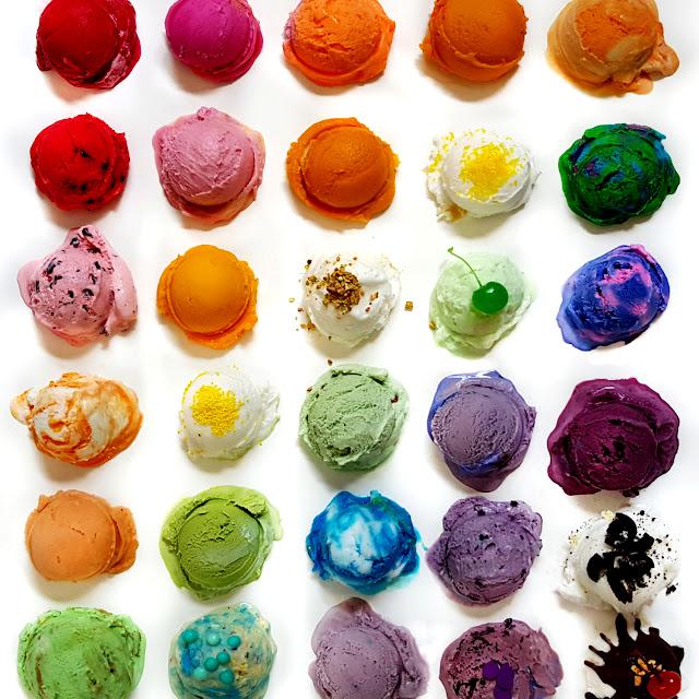 豊かな色彩!自然界の美しいグラデーション作品【Art】 アイスクリームのグラデーション
