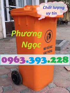 Thùng rác công nghiệp 120L nắp kín, thùng rác công cộng,thùng rác 120L nhựa HDPE Z1962517465348_b4713636f4909a1f42dbd888beb9d31d