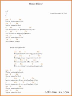 chord manis berduri lagu dangdut ida eliza