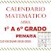 CALENDARIO MATEMÁTICO (Abril) 1° A 6° PRIMARIA