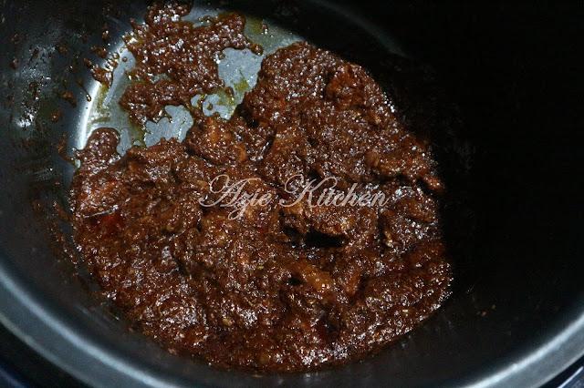 Daging Masak Hitam Sedap dan Mudah Guna Periuk Noxxa