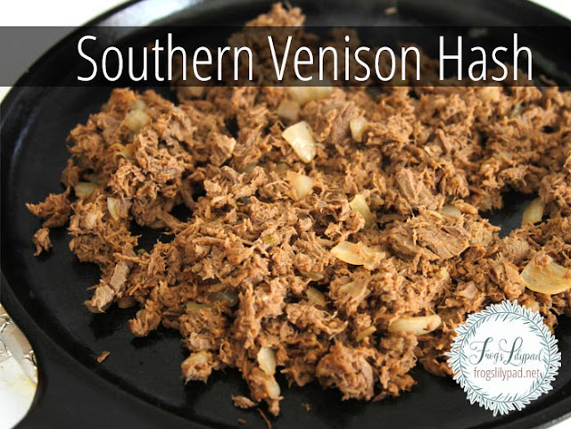 Southern Venison Hash Recipe