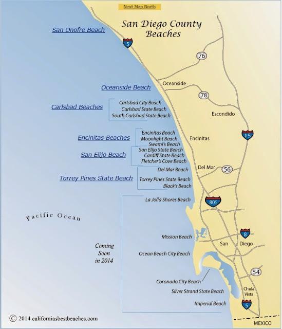 praias san diego