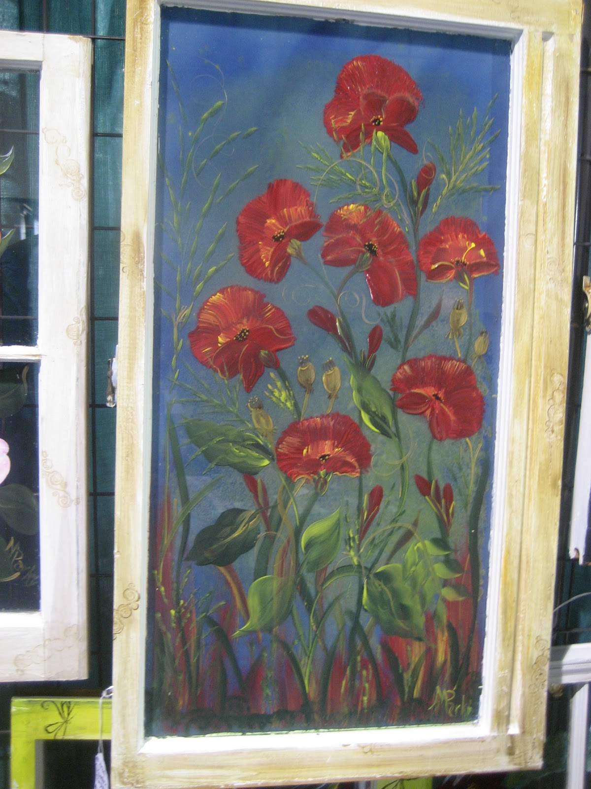 Art From the Heart by Mary Old Window Art
