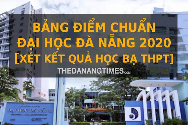 Diem chuan dai hoc da nang 2020
