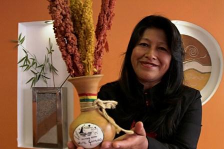 Bolivianas en el mundo