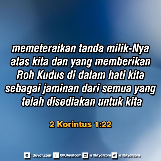 2 Korintus 1:22