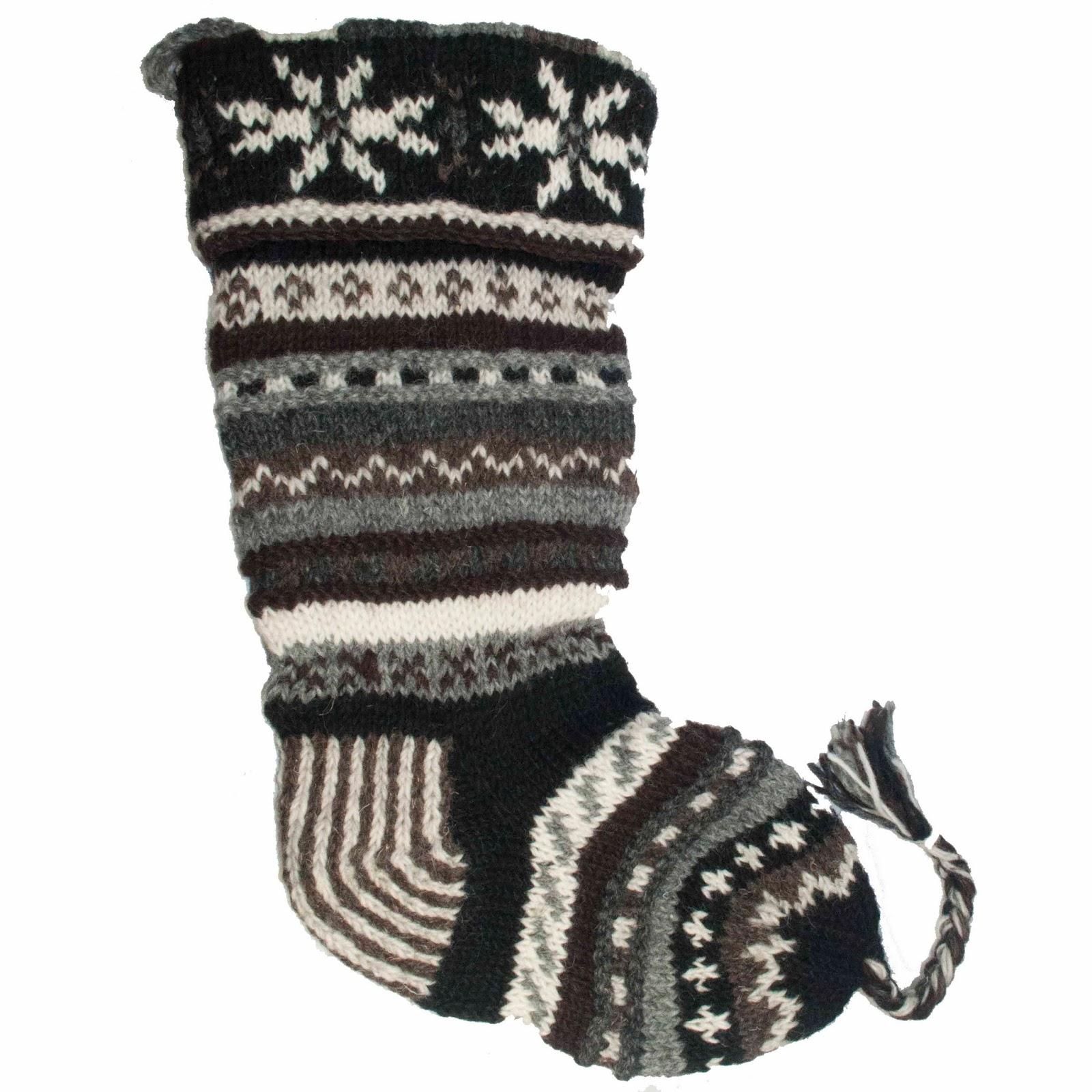 Tango Zulu Imports New Knit Wool Christmas Stockings From