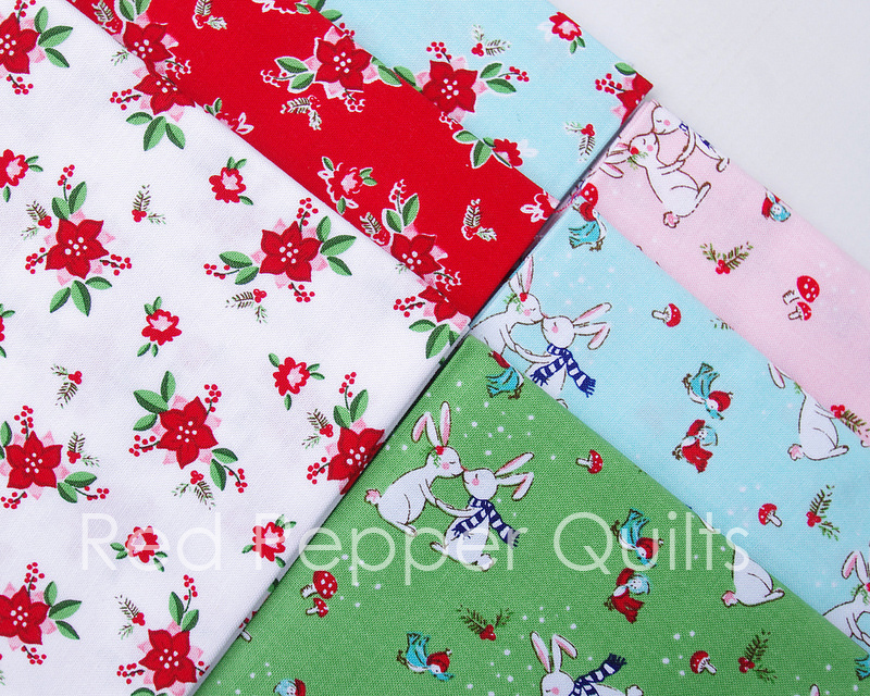 Pixie Noel by Tasha Noel for Riley Blake Designs | Red Pepper Quilts 2016