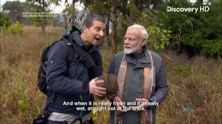 Download Man Vs Wild with Bear Grylls and PM Modi Full Show In Hindi 720p HDTV ESUB | MoviesBaba