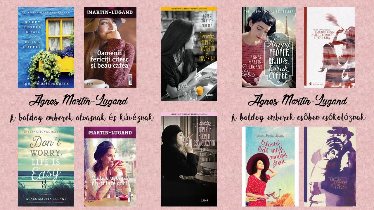 Értékelés - Agnes Martin-Lugand: A boldog emberek olvasnak és kávéznak, A boldog emberek esőben csókolóznak