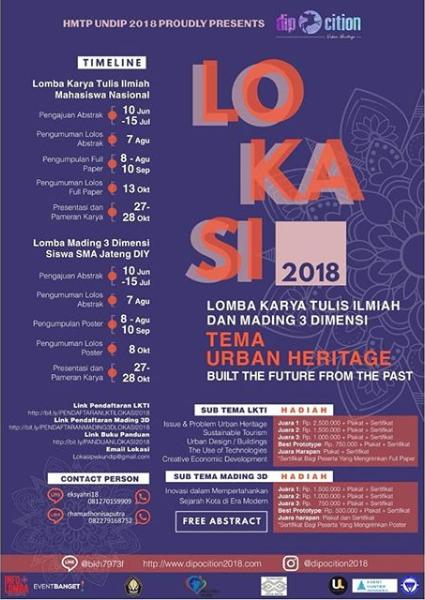 Lomba LKTIN LOKASI DIPOCITION Undip 2018
