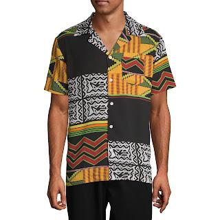Black History Month African Print T-Shirt