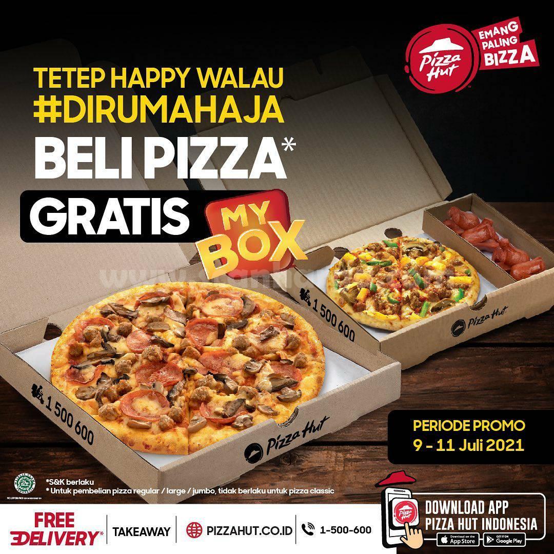 Pizza HUT Promo Beli Pizza GRATIS MyBox