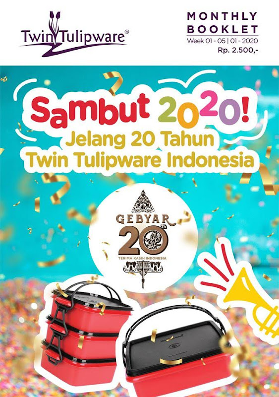 Booklet Twin Tulipware Januari 2020
