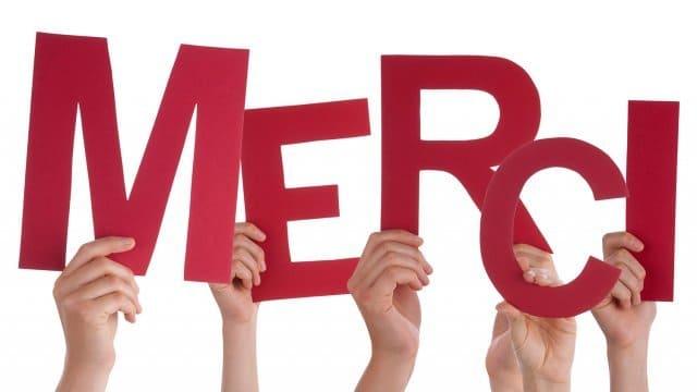 Phrases pour dire merci en français dans toute situation
