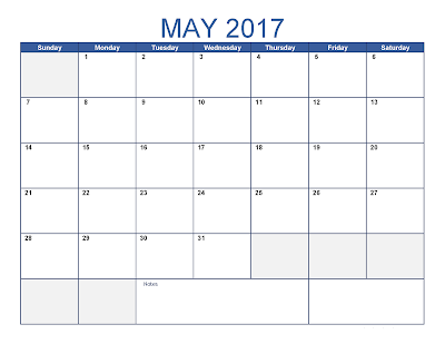 May 2017 Calendar,  May 2017  blank calendars, May 2017 holidays calendar, May 2017 Calendar Printable, May 2017 calendar  templates,