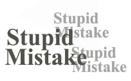 Cara Mengatasi Prilaku Stupid Mistake