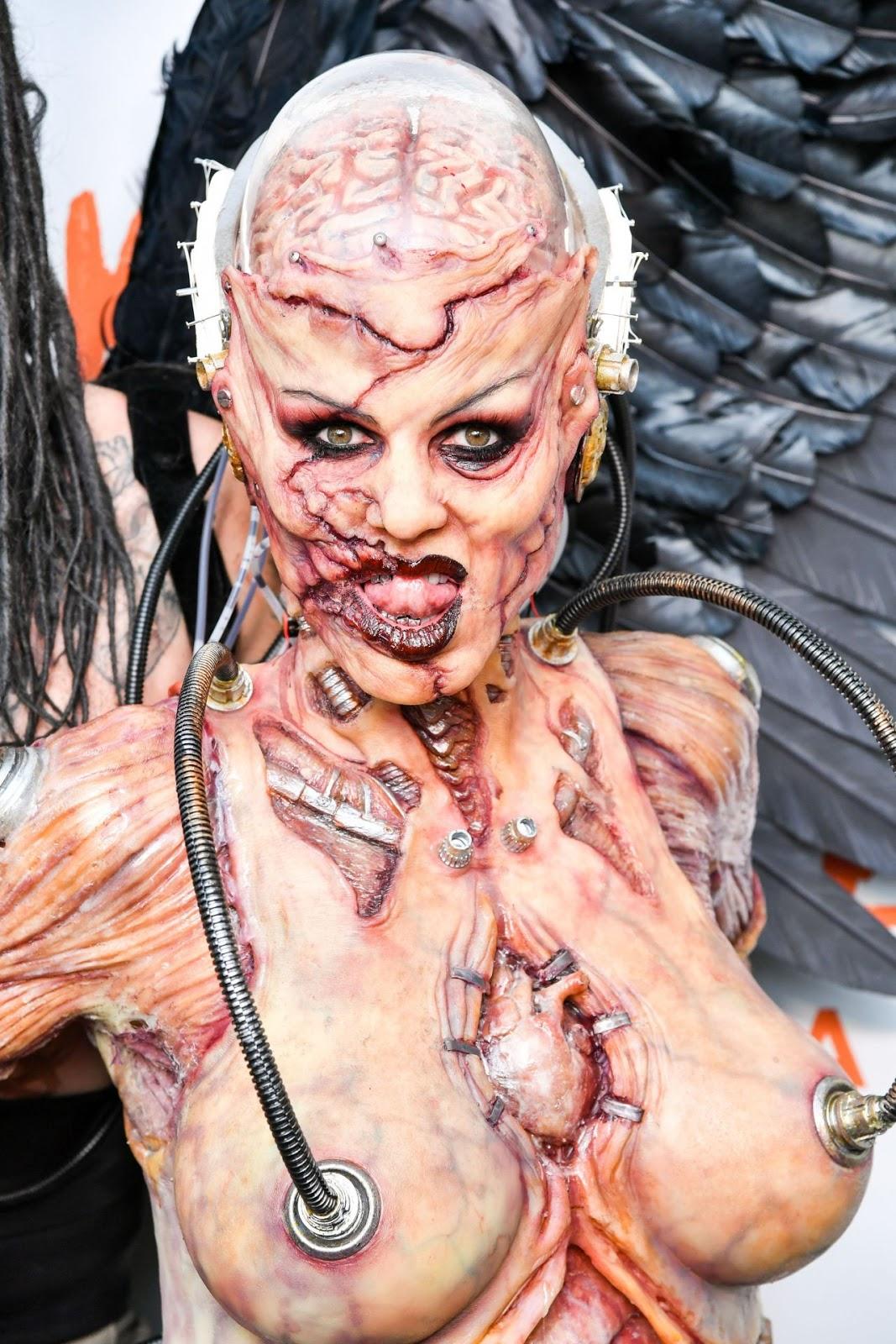 Heidi Klum – Heidi Klum's 20th Annual Halloween Party in NY