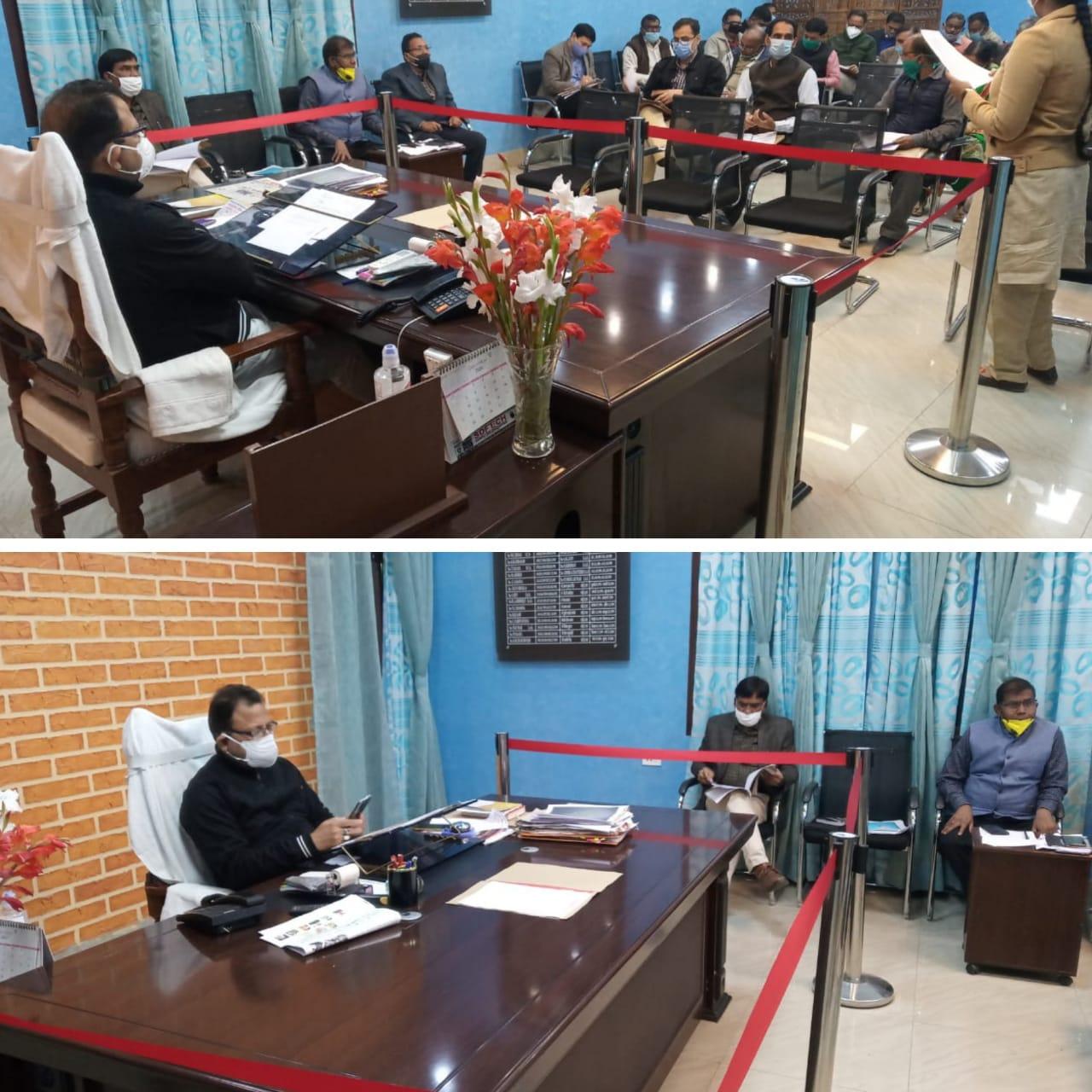 जिलाधिकारी की अध्यक्षता में हुआ मिशन रोजगार अभियान चलाये जाने के सम्बन्ध में बैठक का आयोजन