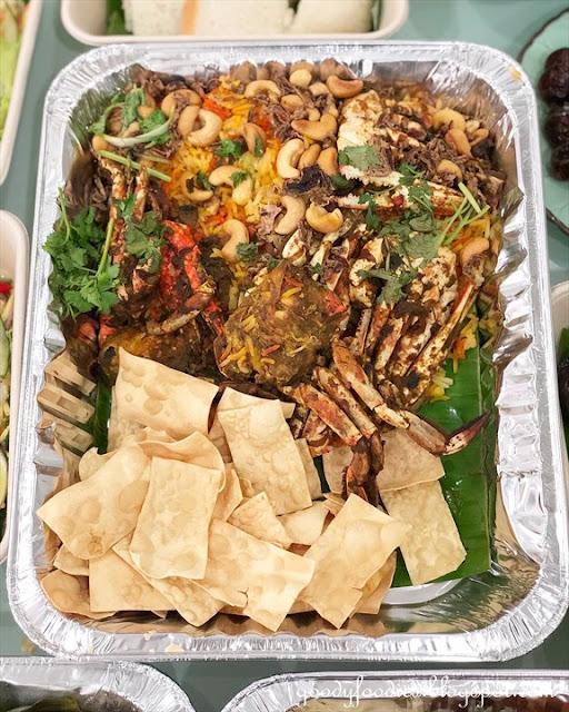 Traders Hotel KL crab briyani