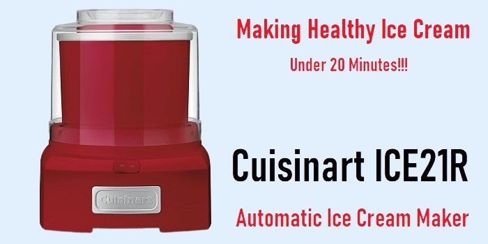 Cuisinart ICE21R - Automatic Ice Cream Maker
