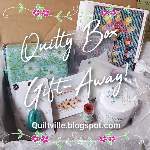 Belated June 2021 Quilty Box Gift-Away!