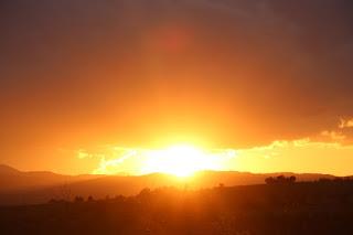 Sun show once again