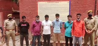 लखनऊ : जीवनरक्षक दवाईयों की कालाबाजारी में छः गिरफ्तार, कमिश्नर ने पुलिस टीम को दिया इनाम