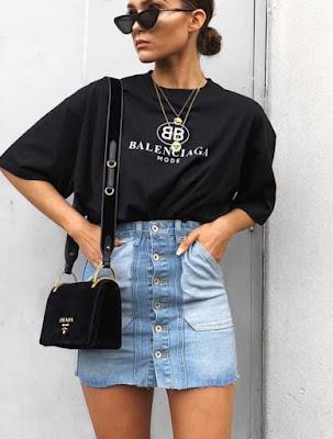 33 look's com saia e camiseta para te inspirar