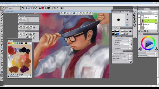 Corel Painter X3 screenshot 2