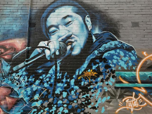 Street Art by Heesco in Laverton