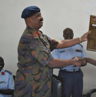 Major General Mohamed Badi of the Kenya Air Force as the first Director-General NMS