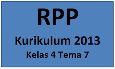 RPP Super K13 Kelas 4 Tema 7