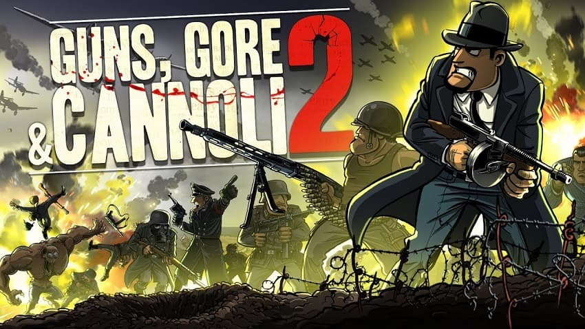 Guns Gore and Cannoli 2, Guns Gore and Cannoli, Indie Game, Zombies, Review, Рецензия, Обзор, Мнение, Отзыв