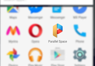 parallel space screen