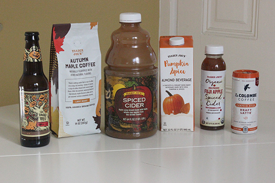 Trader Joe's Fall Seasonal Drinks Haul and Review | Will Bake for Shoes