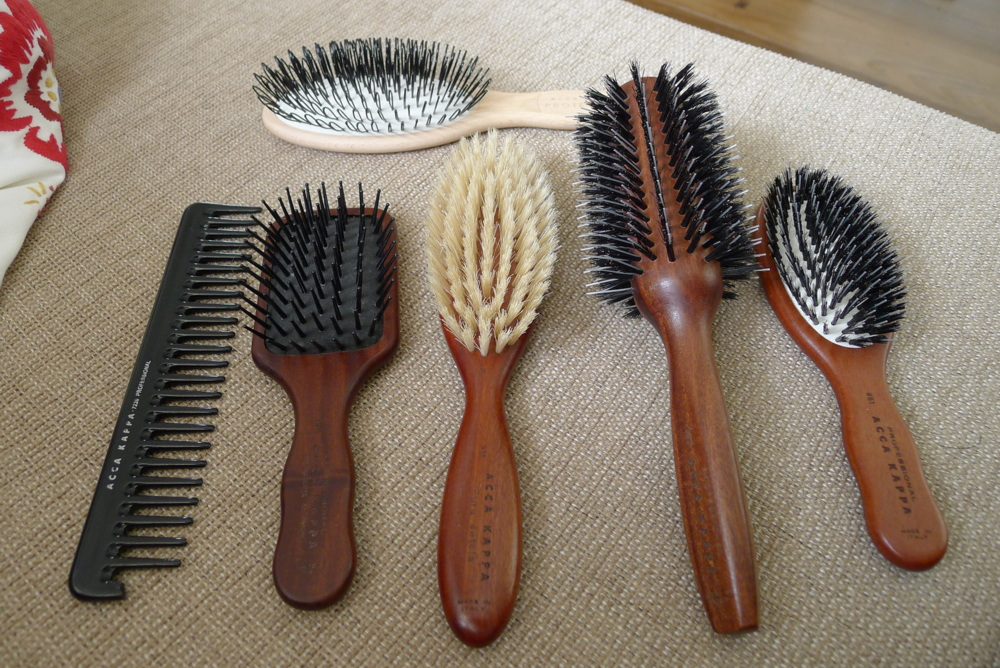Avoid The Rough, Stiff Hair Brushes