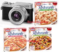 """Concorso Cameo Pizza Ristorante """"Scatta i tuoi piccoli momenti straordinari """" : in palio 100 fotocamere digitali Lumix DC-GX800 Panasonic"""