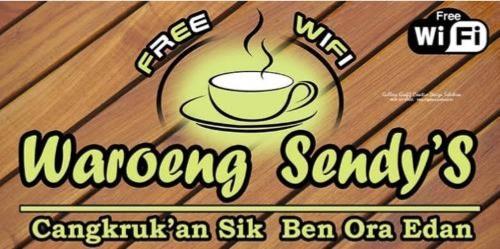 Contoh Banner Warung Kopi Free Wifi Terbaru 2019