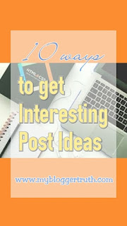 get blog post ideas
