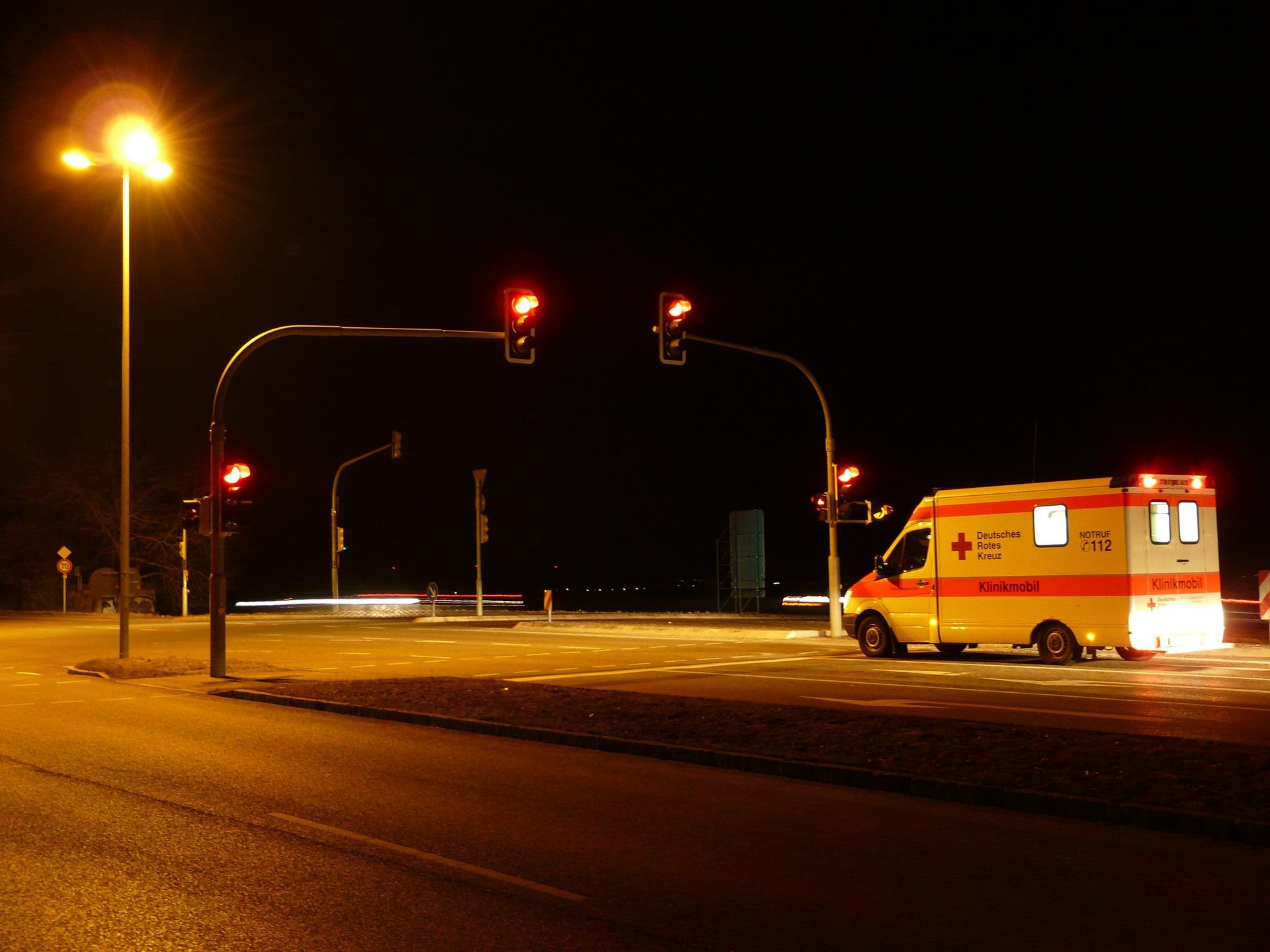 Ghost Story Night ambulance