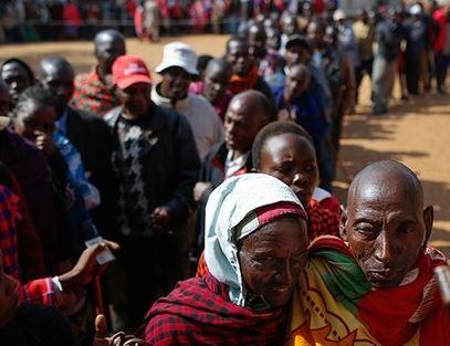 Woman gives birth at Kenya polling station, names her baby girl 'Ballot'