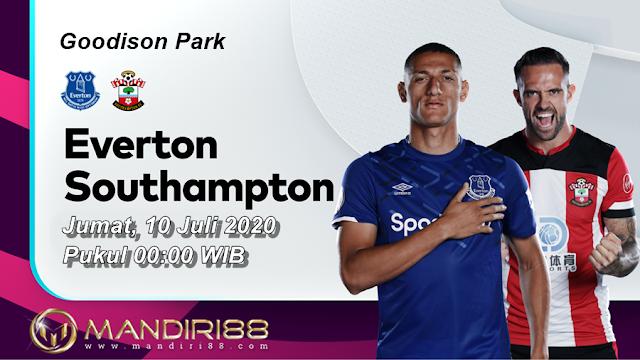 Prediksi Everton Vs Southampton, Jumat 10 Juli 2020 Pukul 00.00 WIB @ Mola TV