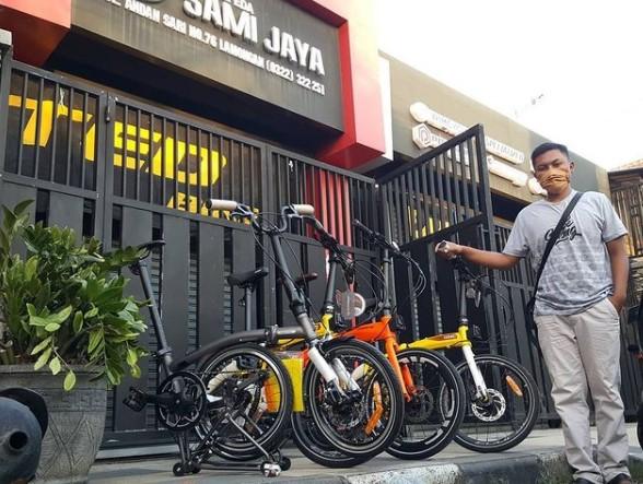 Toko Sepeda Sami Jaya Lamongan