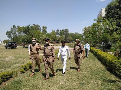 महाविद्यालय में क्वारन्टीन किये गये व्यक्तियों को चेक कर व्यवस्थाओं का निरीक्षण किया -ADM जालौन Checked the persons quarantined in the college and inspected the arrangements - ADM Jalaun           संवाददाता, Journalist Anil Prabhakar.                 www.upviral24.in
