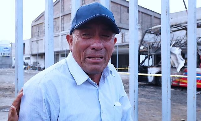 Hombre que perdió seis familiares en incendio en Fiori
